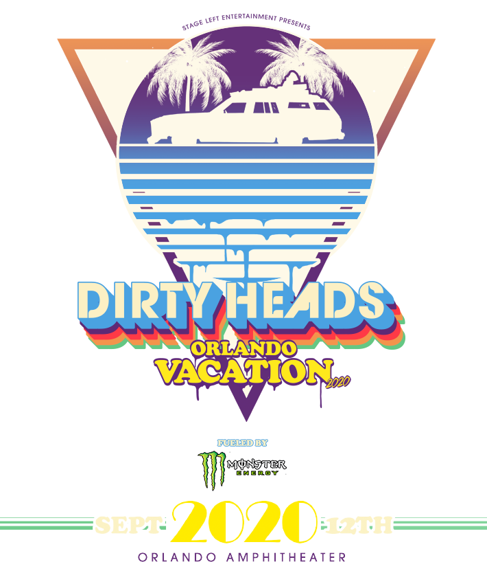 Dirty Head's Orlando Vacation Logo
